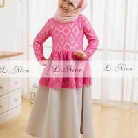 Jual Baju Muslim Anak Model Kebaya Lintangmomsneed