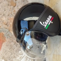 Helm Retro Bogo Italy Black