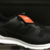 Sepatu casual piero jogger black/white original murah