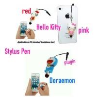 stylus pen hello kitty dan doraemon