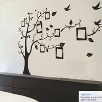 wallpaper gambar pohon dan frame photo