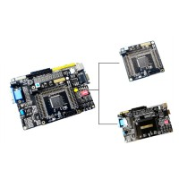 Xilinx Spartan-6 FPGA Development Board XC6SLX9 ADC AD dan DA DAC AB06