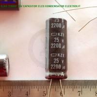 Elko 2200uf 25v Capasitor Elco Kondensator Elektrolit