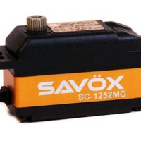 SAVOX SC-1252MG Low Profile High Speed Metal Gear Digital Servo (1252)