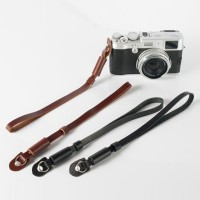 Camera Wrist Hand Strap PU Leather Lanyard For DSLR Camera