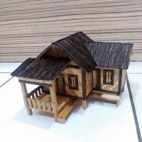 miniatur rumah adat(jawa barat)