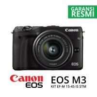 harga CANON EOS M3 KIT EF-M15-45MM HITAM Tokopedia.com