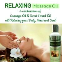 Relaxing Massage Oil Aromateraphy Minyak Pijat Urut Gosok untuk Spa