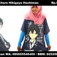 Kaos Chara Hikigaya Hachiman