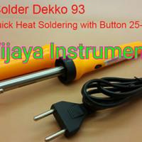DEKKO 93 SOLDERING IRON / SOLDER