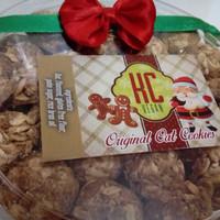Oat Cookies KC Vegan - Makanan sehat aman buat Vegetarian