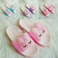 Jelly Sandal Premium Cute Bunny - Sandal Karet - Sandal Import Sendal