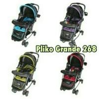 harga kereta dorong bayi pliko grande hadap depan belakang baby stroller Tokopedia.com