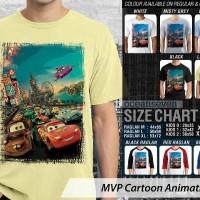 Kaos Film Kartun MVP Cartoon Animation 28 Cars 2