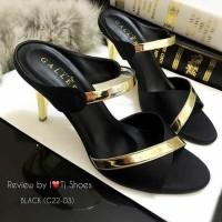 sepatu pesta high heels wanita/cewek murah/ecer/grosir model baru