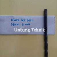 Mata Bor Besi 6mm Nachi HSS
