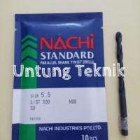 Mata Bor Besi 5.5mm Nachi HSS