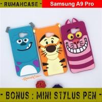 Samsung Galaxy A9 PRO 3D Soft Casing Silikon Case Gambar Karakter Lucu