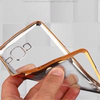Silicon Tpu Samsung Grand 1/grand Neo/neo Plus Shining Crome Good Qual