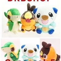 Pokemon Boneka Generasi 5 Tapig Snivy Oshawott Mainan Bayi