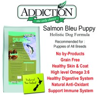Addiction Salmon Bleu Puppy 9kg Makanan Anjing Pet Food Dog Food