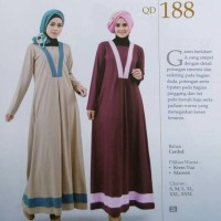 QD 188 Qirani Dewasa /Gamis Muslim/Dress