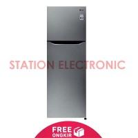 LG Kulkas 2 Pintu 225 L - GN-B252SLCL - Free Shipping Jabodetabek