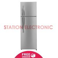 LG Kulkas 2 Pintu - GN-202RLCL Silver