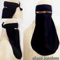 Jilbab Instan Ceruti Niqob Bandana Murah
