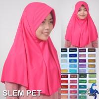 Jilbab Instan Ceruti Slem Pet Limited