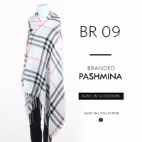 FASHION BRANDED WOMEN PASHMINA/ SHAWL/ SCARF BURBERRY [BR 09]