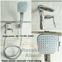 DISCOUNT Paket Shower / Shower Mandi / Kran Cabang NEW STOCK