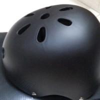 HELM HELEM SEPEDA BMX BATOK BULAT GENIO HITAM DOVE Limited