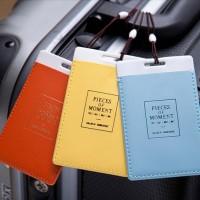 Jual PVC Travel Bag Luggage Tag ID Card Murah