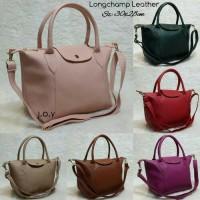 tas lokal/tas longchamp leather