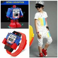 jam tangan anak transformer mainan multifungsi murah grosir