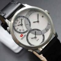 Jam Tangan Pria Swiss Army Original Triple Time 3 Murah Terbaru 3