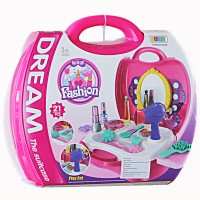 Mainan Anak Perempuan Dream Set Koper Beauty Set Make Up Playset Play