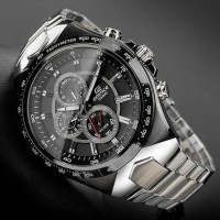 Casio Edifice Ef 534 Silver Combi Black