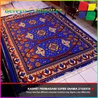 Karpet Permadani Lokal Super Shama Motif 10 Blue 210x310cm