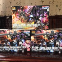 SALE : HG ZAKU BLACK TRISTAR ORIGIN SET OF 3