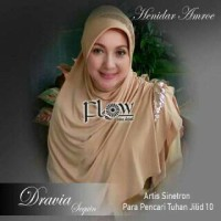 SALE hijab jilbab bergo pet syari henidar amroe flow