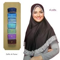 Jual ELZATTA Hijab Asli Bergo Zalfa M Faina Kerudung Jilbab Instan Murah