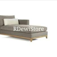 Kursi sofa santai malas, sofa nonton tv minimalis kayu jati klasik