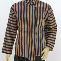 Surjan lurik/baju khas solo/baju tradisional jawa