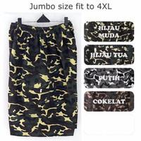 Celana pendek loreng jumbo 4XL XXXL celana pendek army cowok big size