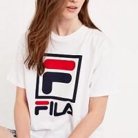 Tshirt / Kaos / Baju Fila - Putih