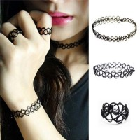 1 Set Choker+Gelang+Cincin Forever 21 Simple Design