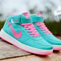 Sepatu Nike Force One High Tosca Pink