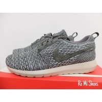 Original Nike Flyknit Roshe Run 'Wolf Grey' Size: 10
